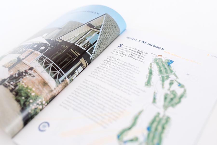 Konzeption & Gestaltung der Printmaterialien für die Postbank-Challenge mit Marcel Siem | 2007