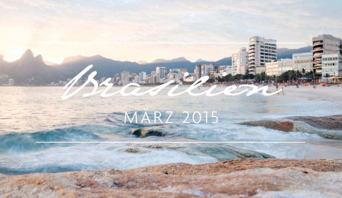 Über den Geburtstag ab in den Flieger nach Brasilien