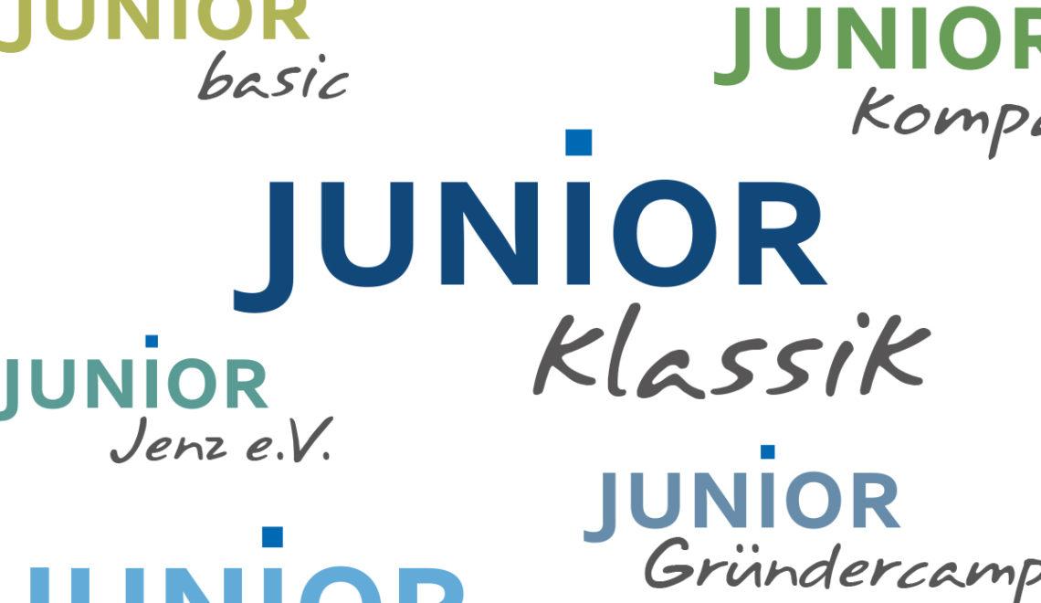 Redesign einer Wortmarke für die IW Junior